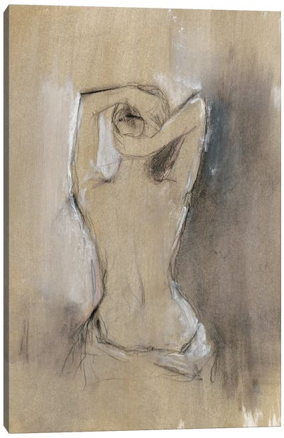 Contemporary Draped Figure I Canvas Art Print