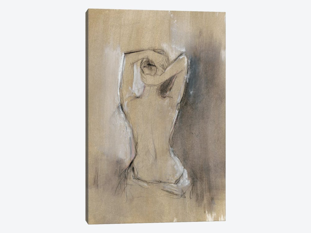 Contemporary Draped Figure I by Ethan Harper 1-piece Canvas Wall Art