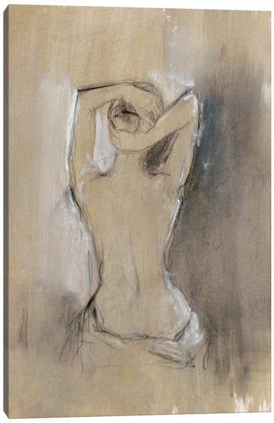 Contemporary Draped Figure I Canvas Art Print