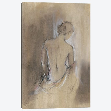 Contemporary Draped Figure II Canvas Print #EHA353} by Ethan Harper Canvas Artwork