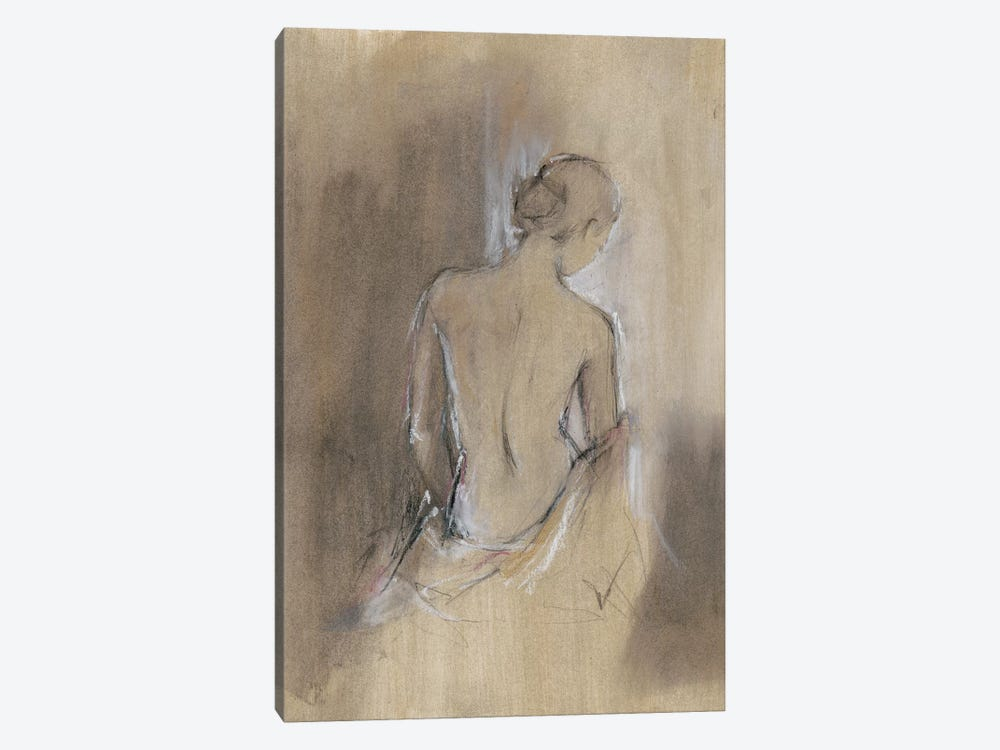 Contemporary Draped Figure II by Ethan Harper 1-piece Canvas Print