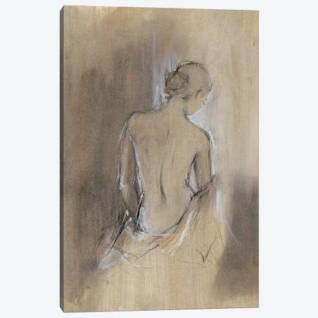 Contemporary Draped Figure II Canvas Print #EHA353} by Ethan Harper Canvas Artwork