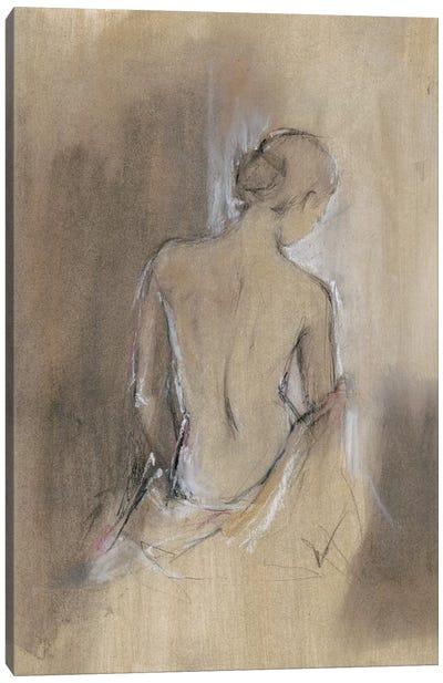 Contemporary Draped Figure II Canvas Art Print