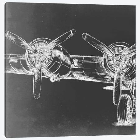 Graphic Plane Panel I Canvas Print #EHA360} by Ethan Harper Art Print