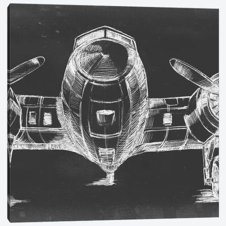 Graphic Plane Panel II Canvas Print #EHA361} by Ethan Harper Canvas Art Print
