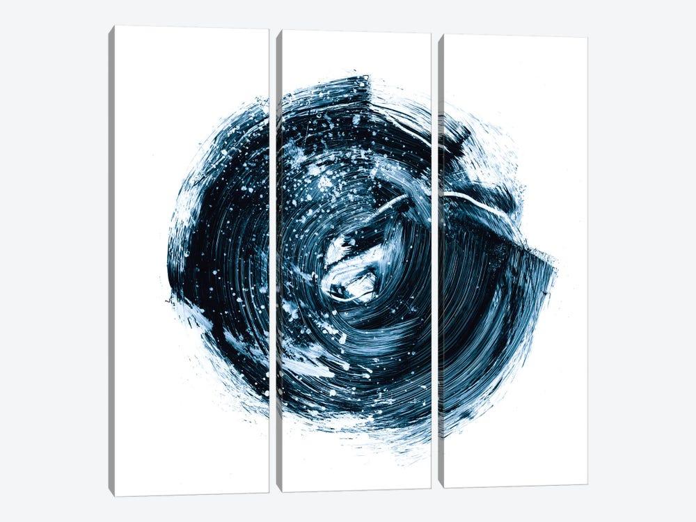 Indigo Nebula IV by Ethan Harper 3-piece Canvas Art