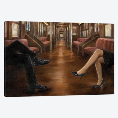 Last Stop Canvas Print #EHA370} by Ethan Harper Canvas Artwork