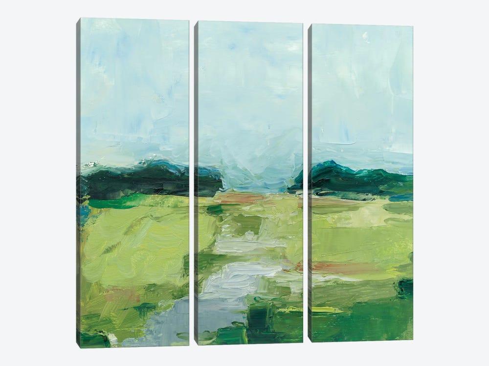 Rural Path I by Ethan Harper 3-piece Canvas Art Print