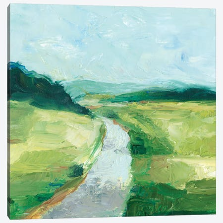 Rural Path II Canvas Print #EHA374} by Ethan Harper Art Print