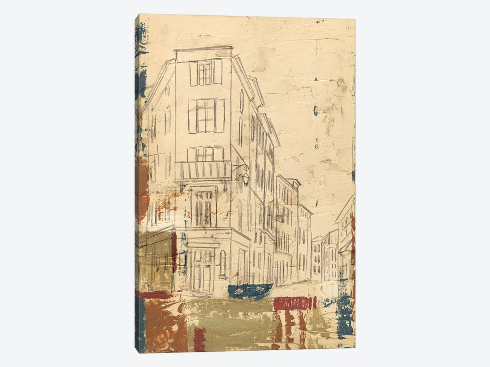 Streets Of Downtown I by Ethan Harper 1-piece Art Print
