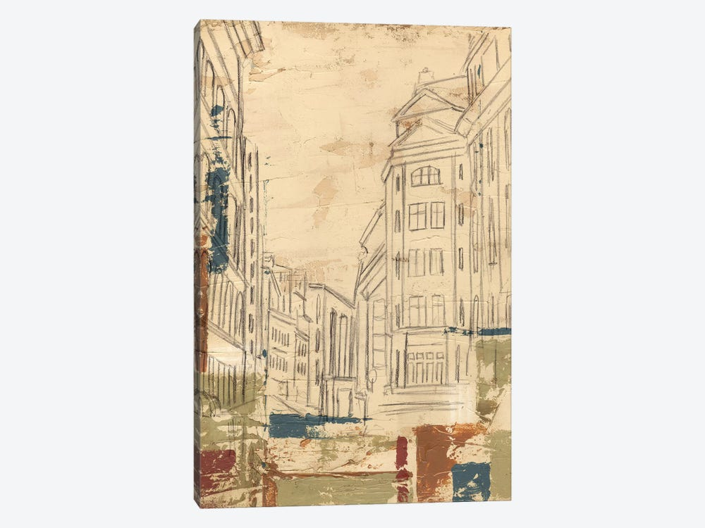 Streets Of Downtown II by Ethan Harper 1-piece Canvas Artwork