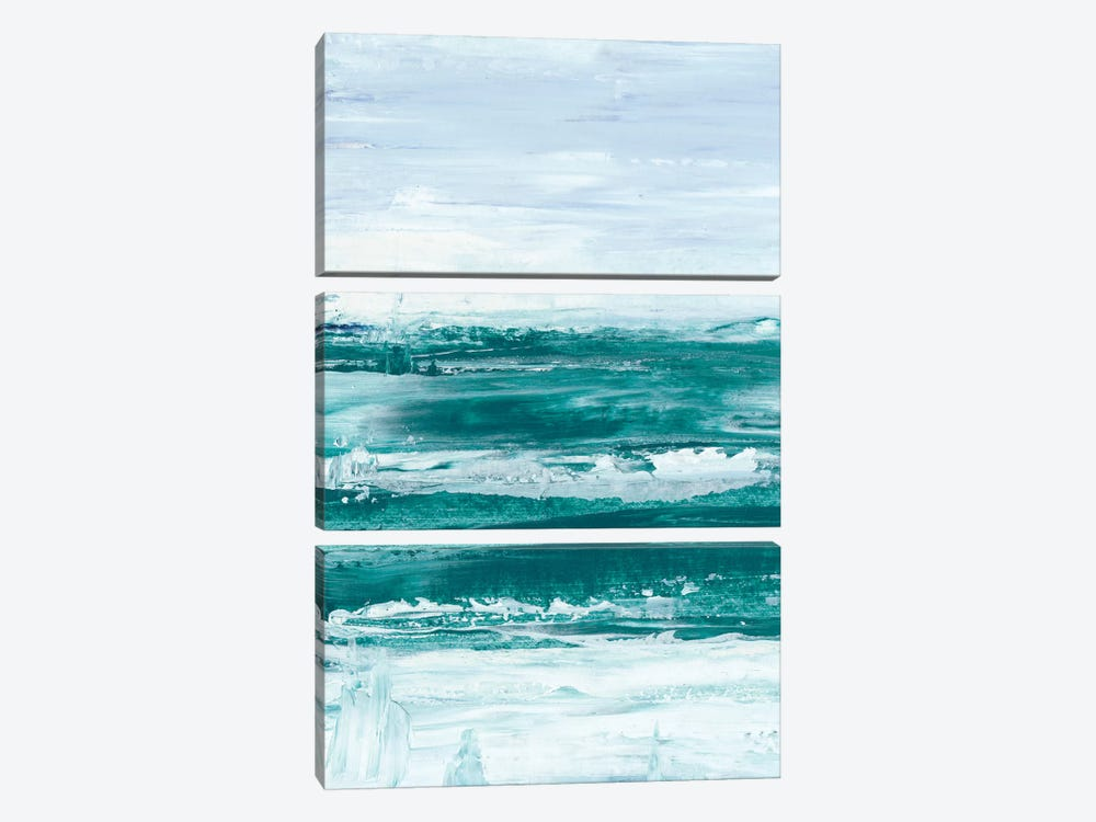 Choppy Waters I by Ethan Harper 3-piece Canvas Art