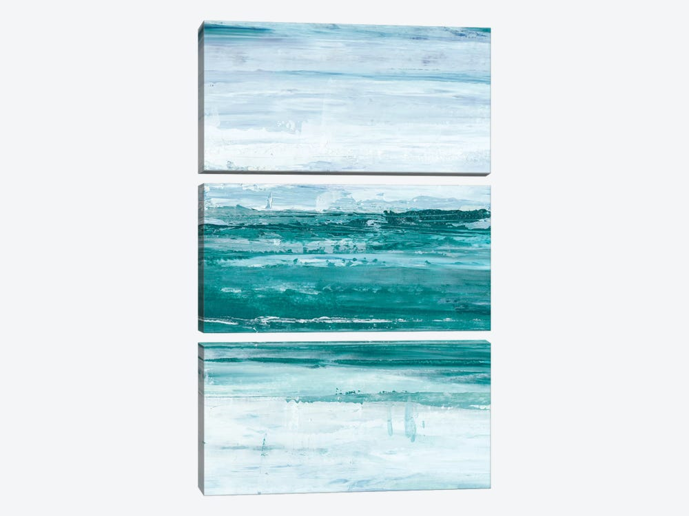 Choppy Waters II by Ethan Harper 3-piece Canvas Print