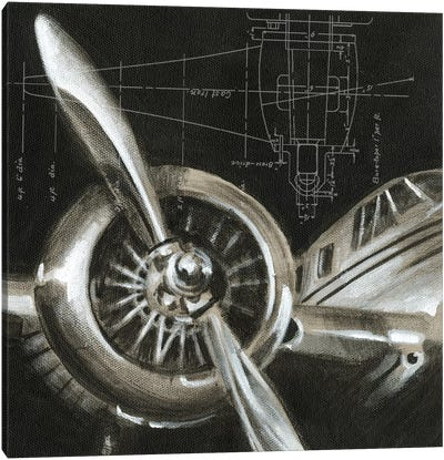 Aerial Navigation I Canvas Art Print