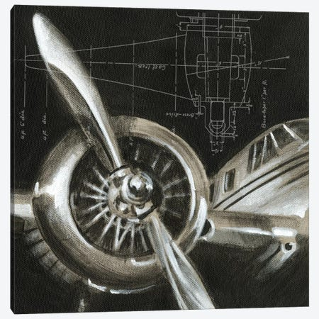Aerial Navigation I Canvas Print #EHA3} by Ethan Harper Canvas Artwork