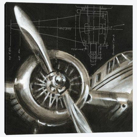 Aerial Navigation I Canvas Print #EHA3} by Ethan Harper Canvas Artwork