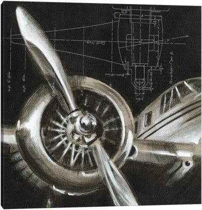 Aerial Navigation I Canvas Art Print