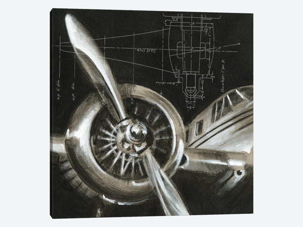 Aerial Navigation I by Ethan Harper 1-piece Canvas Artwork