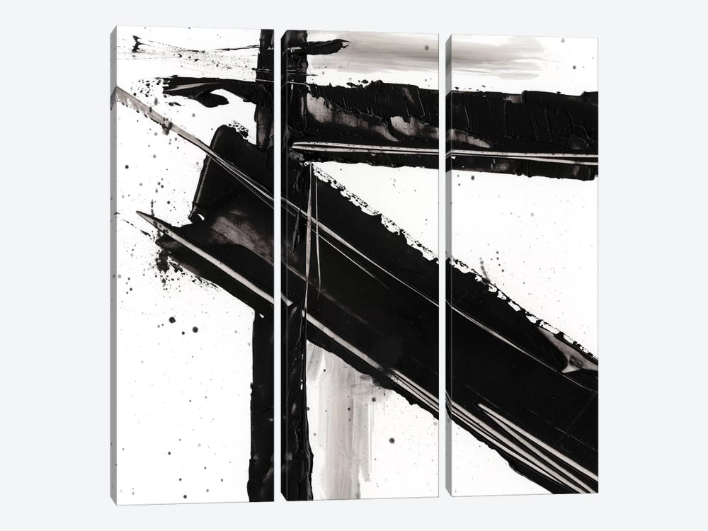 Jagged Edge III by Ethan Harper 3-piece Canvas Art