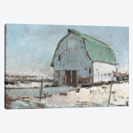 Plein Air Barn I Canvas Print #EHA429} by Ethan Harper Canvas Wall Art
