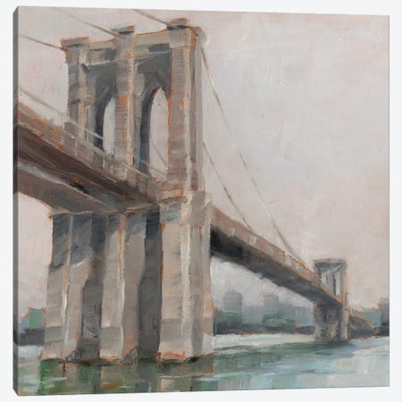 Spanning The East River I Canvas Print #EHA441} by Ethan Harper Canvas Wall Art