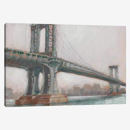 Spanning The East River II 3-Piece Canvas #EHA442} by Ethan Harper Canvas Art
