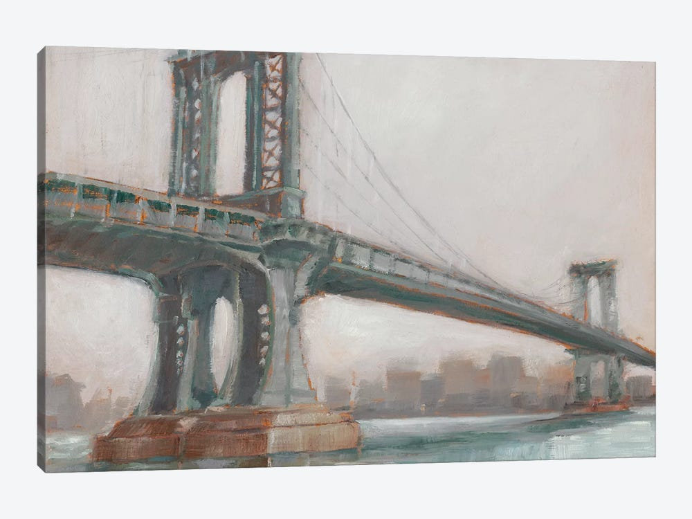 Spanning The East River II by Ethan Harper 1-piece Canvas Art