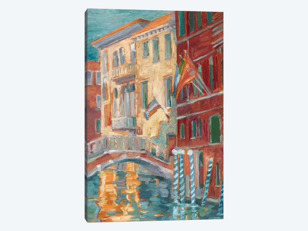 Sunset On The Canal I by Ethan Harper 1-piece Canvas Print