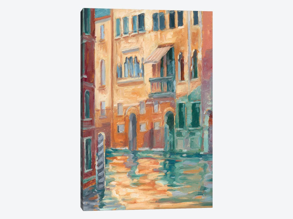 Sunset On The Canal II by Ethan Harper 1-piece Canvas Art