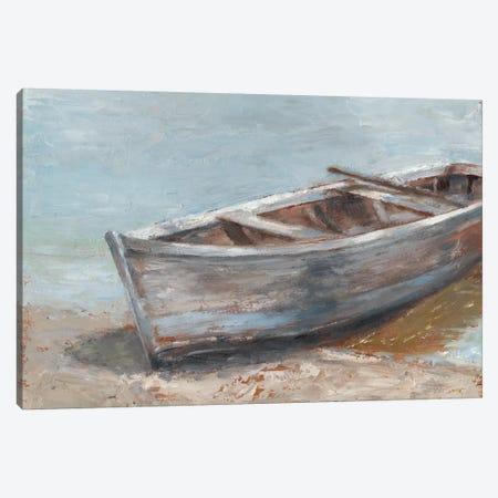 Whitewashed Boat II Canvas Print #EHA448} by Ethan Harper Canvas Wall Art