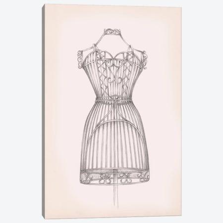 Antique Dress Form I Canvas Print #EHA453} by Ethan Harper Canvas Art Print