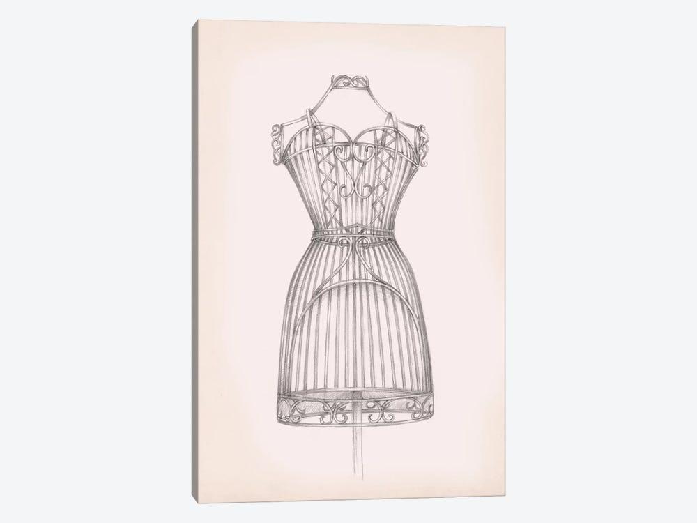 Antique Dress Form I by Ethan Harper 1-piece Canvas Art