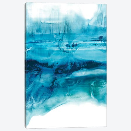 Aqua Mist I Canvas Print #EHA457} by Ethan Harper Canvas Artwork