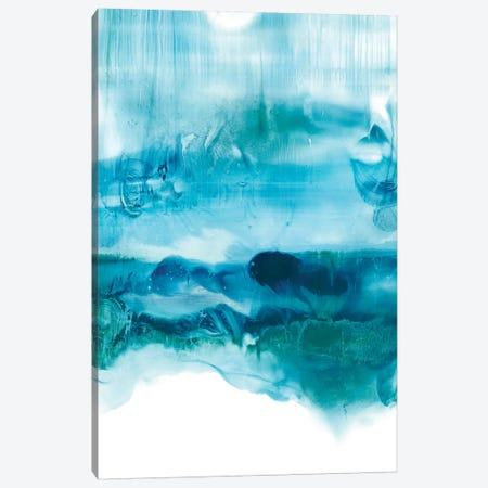 Aqua Mist II Canvas Print #EHA458} by Ethan Harper Canvas Art Print