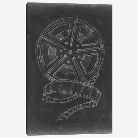 Film & Reel Blueprint II Canvas Print #EHA45} by Ethan Harper Canvas Art