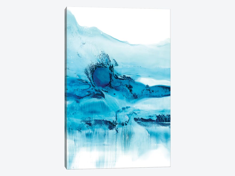 Blue Currents II by Ethan Harper 1-piece Canvas Art