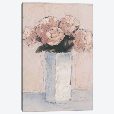 Blush Florals I Canvas Print #EHA469} by Ethan Harper Canvas Artwork