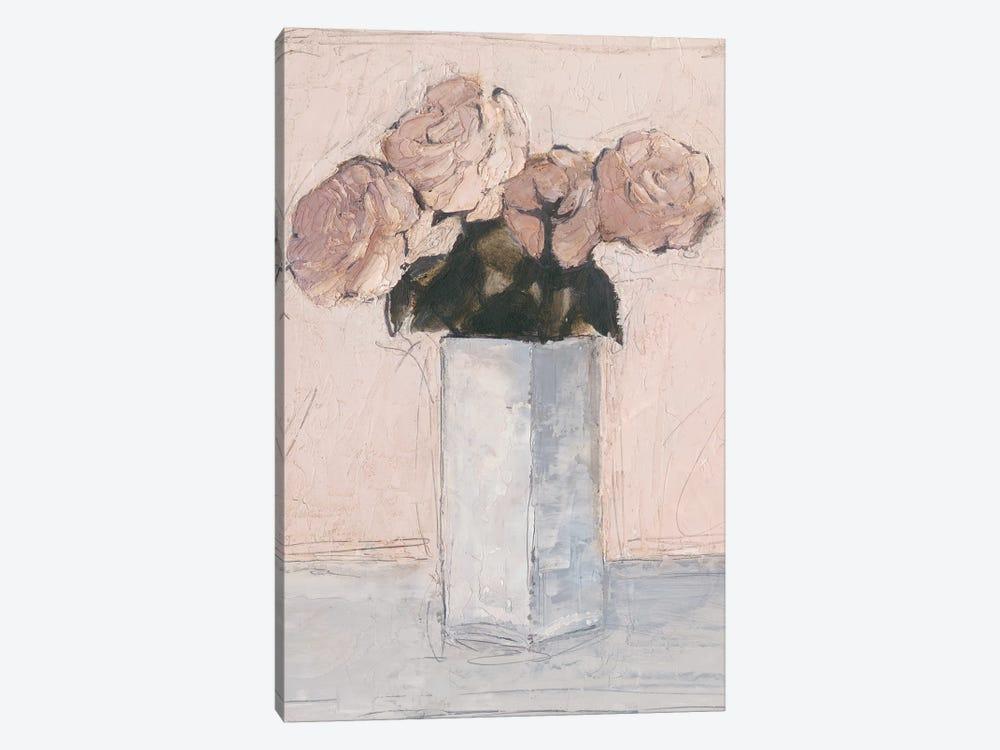 Blush Florals II by Ethan Harper 1-piece Canvas Art Print