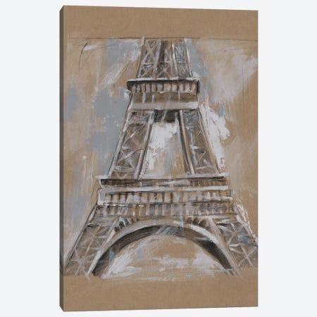 Brushwork Architecture Study II Canvas Print #EHA472} by Ethan Harper Art Print