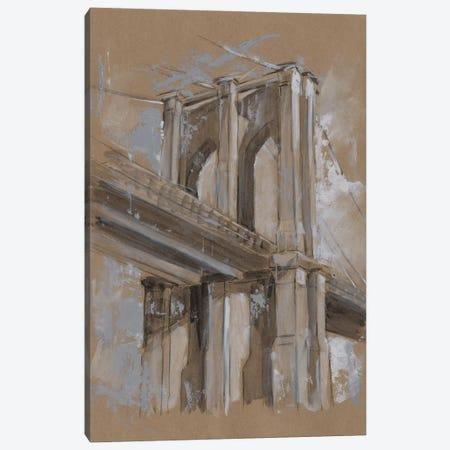Brushwork Architecture Study III Canvas Print #EHA473} by Ethan Harper Art Print