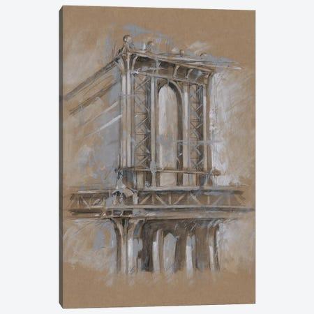 Brushwork Architecture Study IV Canvas Print #EHA474} by Ethan Harper Canvas Artwork