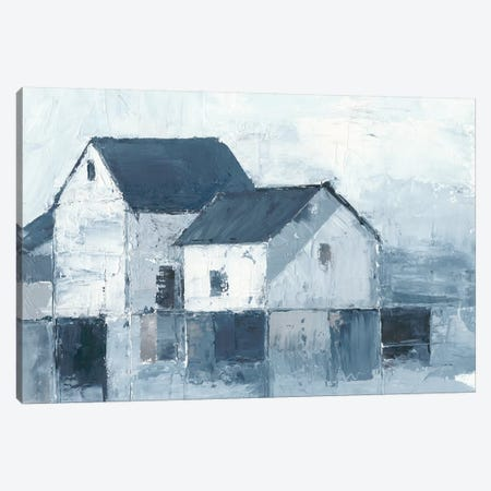 Indigo Barns I Canvas Print #EHA489} by Ethan Harper Canvas Wall Art