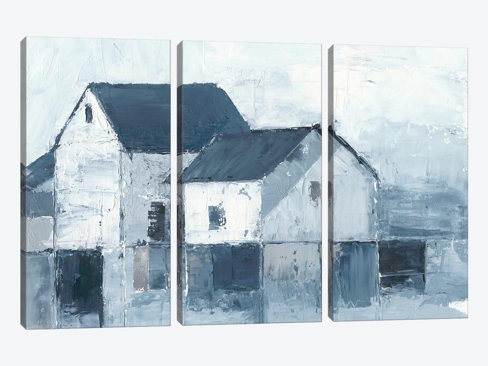 Indigo Barns I by Ethan Harper 3-piece Canvas Art Print