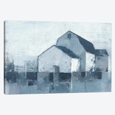 Indigo Barns II 3-Piece Canvas #EHA490} by Ethan Harper Canvas Print