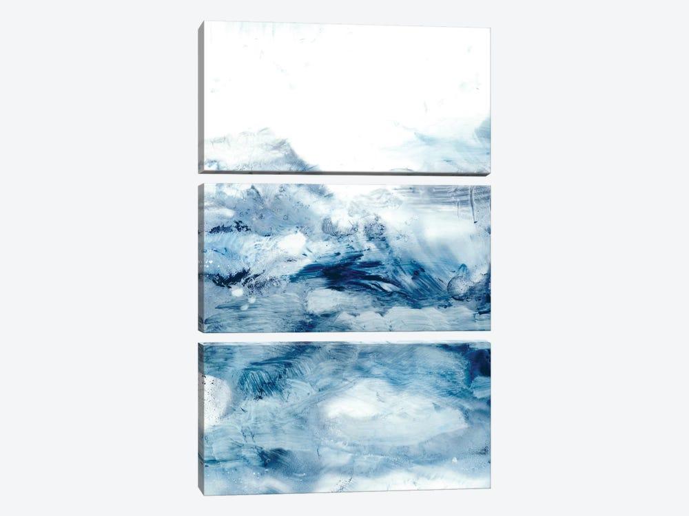 Indigo Tides II by Ethan Harper 3-piece Canvas Print