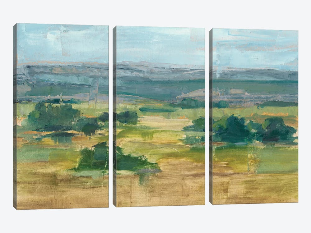 Valley View I by Ethan Harper 3-piece Canvas Art Print