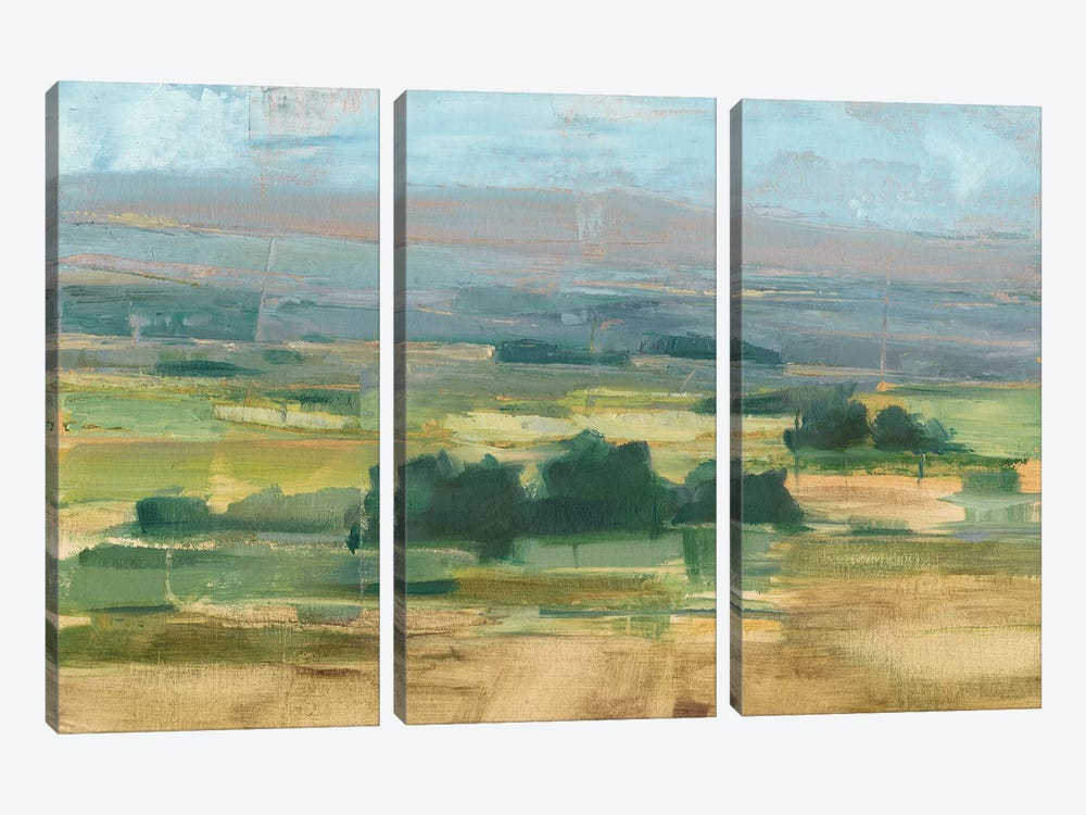 Valley View II by Ethan Harper 3-piece Canvas Wall Art
