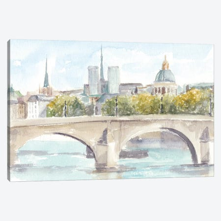 French Bridge Study I Canvas Print #EHA531} by Ethan Harper Canvas Wall Art