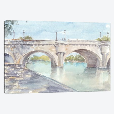 French Bridge Study II Canvas Print #EHA532} by Ethan Harper Canvas Artwork