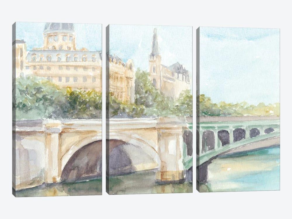 French Bridge Study IV by Ethan Harper 3-piece Canvas Artwork